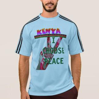 Kenia-Präsidentschaftswahl wähle ich Frieden T-Shirt