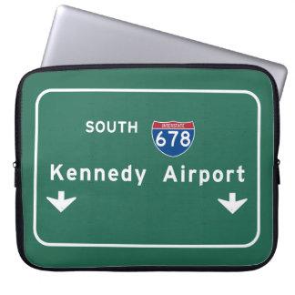 Kennedy-Flughafen JFK I-678 NYC New York City NY Laptopschutzhülle