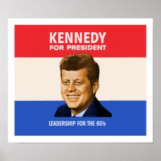 Kennedy für Präsidenten Poster