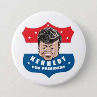 Kennedy für Präsidenten Runder Button 7,6 Cm