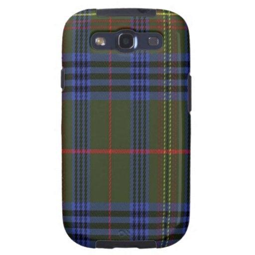 Kennedy schottischer Tartan Samsung rufen Fall an Etui Fürs Galaxy SIII