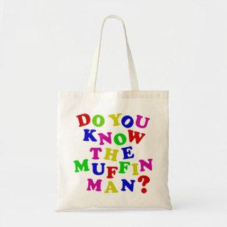 Kennen Sie den Muffin-Mann? Tragetasche