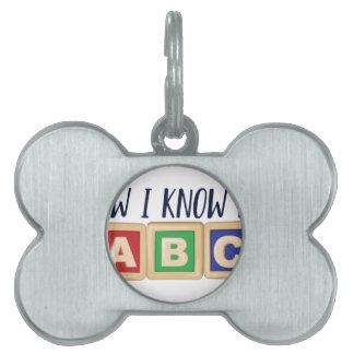 Kennen Sie mein ABC Tiermarke