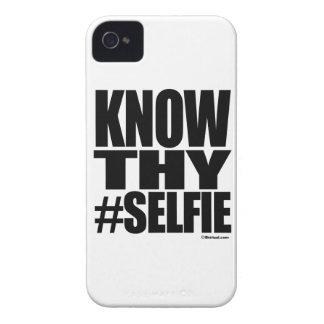 KENNEN SIE THY SELFIE iPhone 4 ETUIS