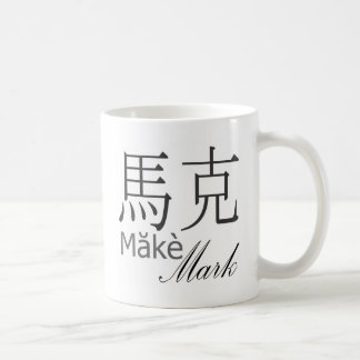 Kennzeichen Kaffeetasse