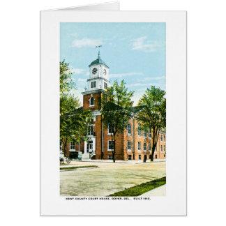Kent County Gerichtsgebäude, Dover, Delaware Karte