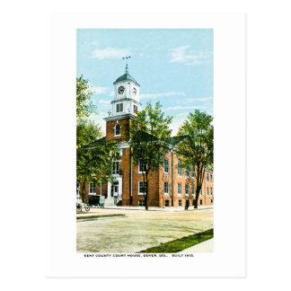 Kent County Gerichtsgebäude, Dover, Delaware Postkarte