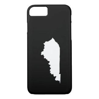 Kentucky im Weiß und im Schwarzen iPhone 8/7 Hülle