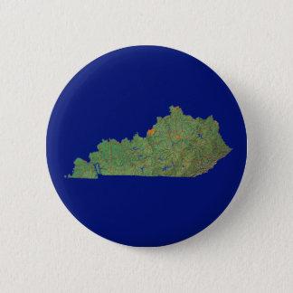 Kentucky-Karten-Knopf Runder Button 5,7 Cm