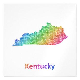 Kentucky Magnetische Karte
