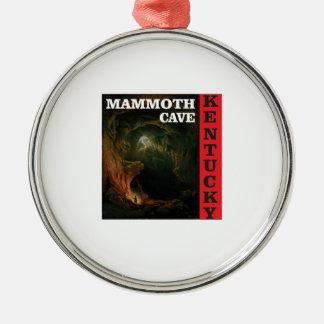 Kentucky-Mammuthöhle Silbernes Ornament
