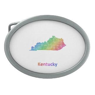 Kentucky Ovale Gürtelschnalle