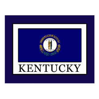 Kentucky Postkarte