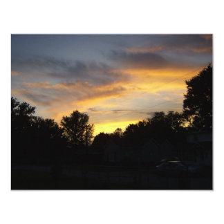 Kentucky-Sonnenuntergänge Karte