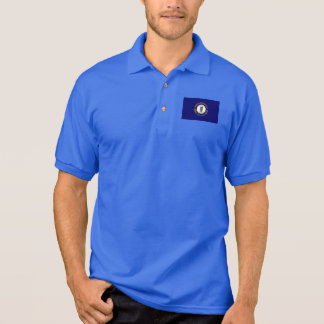 Kentucky-Staats-Flagge Polo Shirt