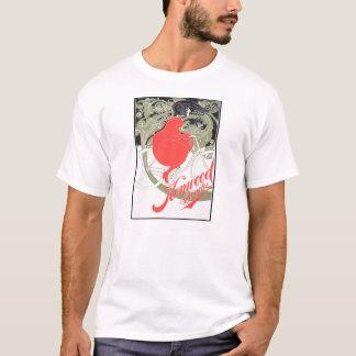 Kenwood fährt Kunst Nouveau rad T-Shirt