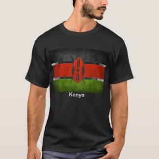 Kenyan-Flagge T - Shirt die Qualität der Männer