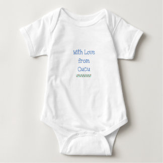 Kenyan-Großmutter-Baby-Bodysuit Baby Strampler