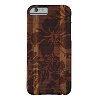 Keokea Strand-Imitat-Holz-Surfbrett Barely There iPhone 6 Hülle