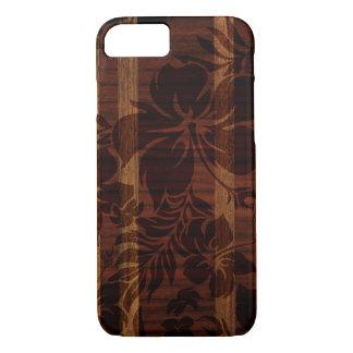 Keokea Strand-Imitat-Holz-Surfbrett iPhone 8/7 Hülle