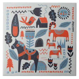 Keramik-Fliese - skandinavische Sammlung Fliese