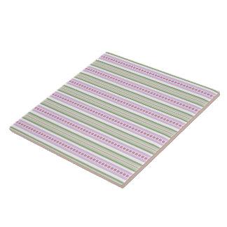 Keramik-Fliese - Süßigkeit Striped für Phlox