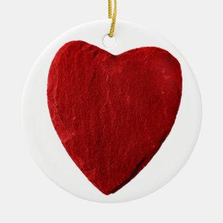 Keramik Kreis Ornament mit Herz