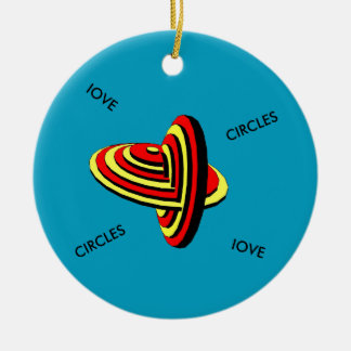 Keramik-Kreis-Verzierung Keramik Ornament