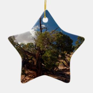 KERAMIK Stern-Ornament
