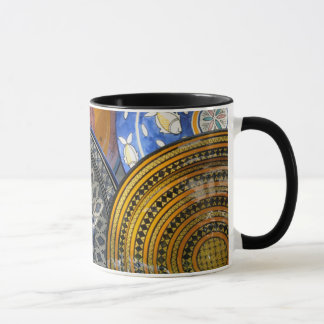 Keramik-Teller Tasse