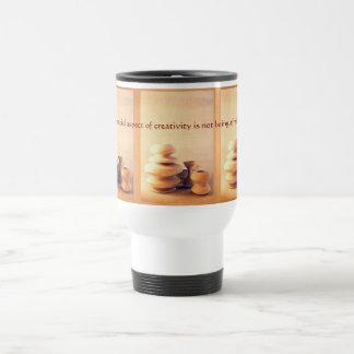 Keramik-Tonwaren-noch Leben I - Licht und Schatten Reisebecher