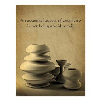Keramik-Tonwaren-noch Postkarte
