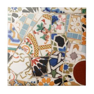 Keramikmuster Kleine Quadratische Fliese