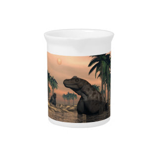 Keratocephalus Dinosaurier - 3D übertragen Krug