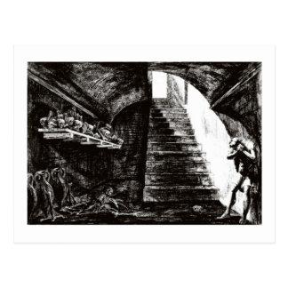 Kerker der Verzweiflungspostkarte Postkarten