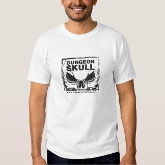 Kerker-Schädel-Logo-Shirt T Shirts
