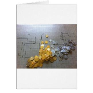 Kerker-Schatz Grußkarte