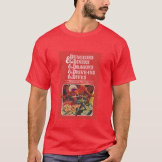 Kerker u. Restaurants u. Drachen u. Antrieb-Ins u. T-Shirt
