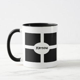 Kernow kornische Flagge Tasse