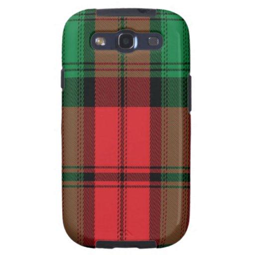 Kerr schottischer Tartan Samsung rufen Fall an Galaxy S3 Schutzhüllen