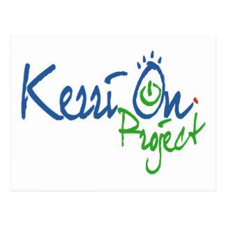 KerriOn Logo Postkarte