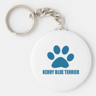 KERRY-BLAU-TERRIER-HUNDEentwürfe Schlüsselanhänger