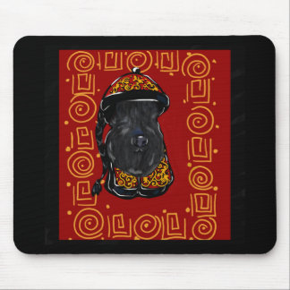 Kerry-Blau-Terrier-Jahr des Hundes Mousepad