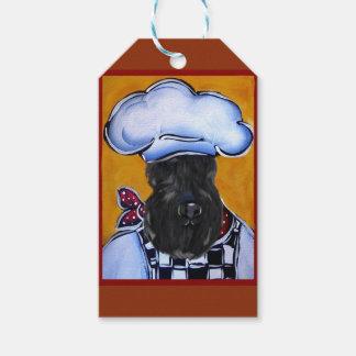 Kerry-Blau-Terrier-Koch Geschenkanhänger