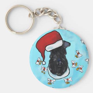 Kerry-Blau Terrier Schlüsselanhänger