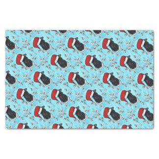 Kerry-Blau Terrier Seidenpapier