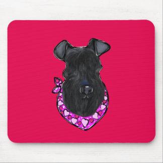 Kerry-Blau-Terrier-Valentinsgruß Mousepad