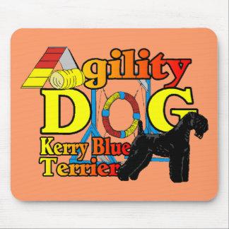 Kerry_Blue_Terrier_Agility Mousepad