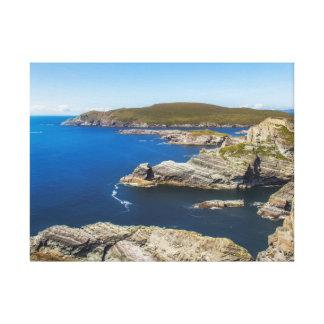 Kerry Cliffs in Irland Galerie Gefaltete Leinwand