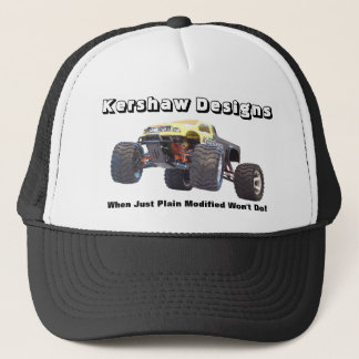 Kershaw entwirft kundenspezifische kontrollierte truckerkappe